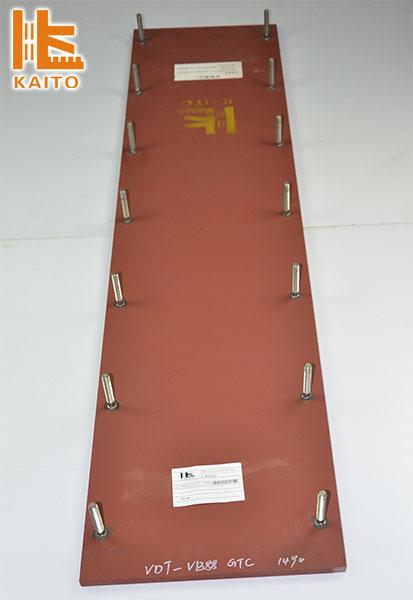 摊铺机熨平板的工作原理
