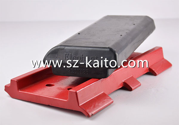 橡胶履带板的优势