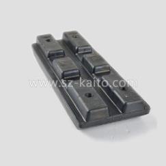 铣刨机橡胶履带板不带螺栓