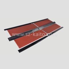 摊铺机输料底板及保护